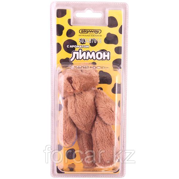 """Ароматизатор игрушка SKYWAY """"Медвежонок"""" лимон"""