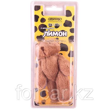 """Ароматизатор игрушка SKYWAY """"Медвежонок"""" лимон, фото 2"""
