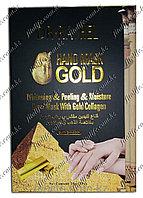 """Отбеливающая и увлажняющая пилинг маска для рук """"Dr-rashel"""",золотой коллаген"""