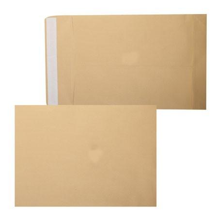 Конверт В4 (250*353) силикон, 90гр/м2, пакет коричневый