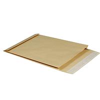Конверт В4 (250*353*40), с расширением, 130гр/м2, пакет коричневый
