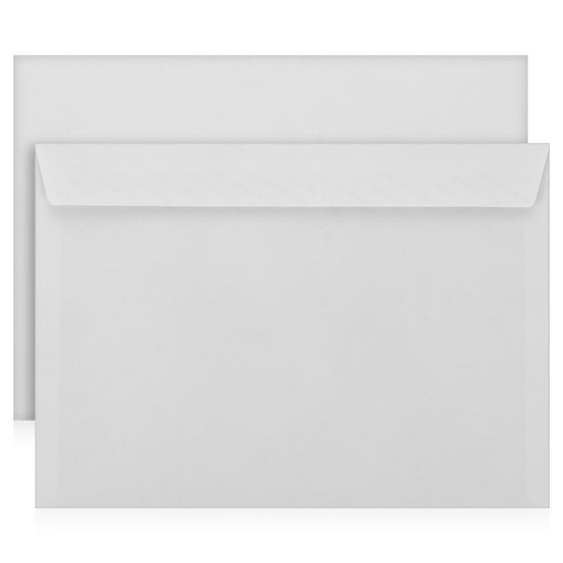 Конверт С4 (229*324) силикон, 90гр/м2, белый
