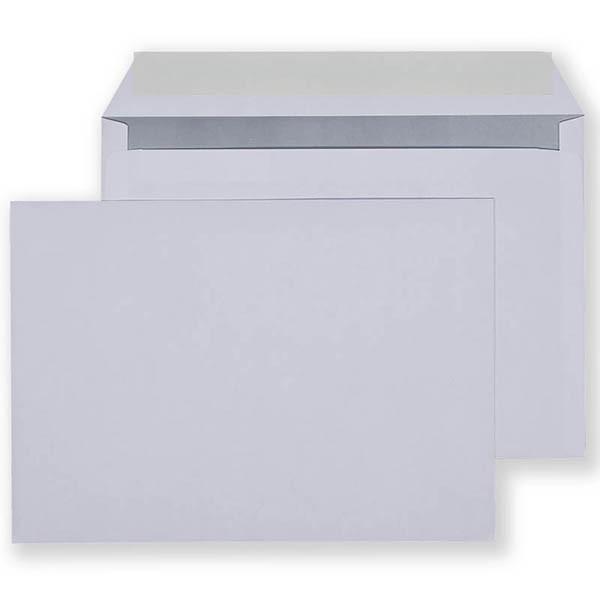Конверт С4 (229*324) силикон, 90гр/м2, белый, тангир