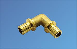 Угольник для труб PE-RT соединительный д. 16