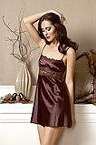 Женский атласный халатик+сорочка. Anabel Arto , фото 2