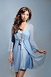Женская атласная сорочка+кружевной халатик. Anabel Arto , фото 2