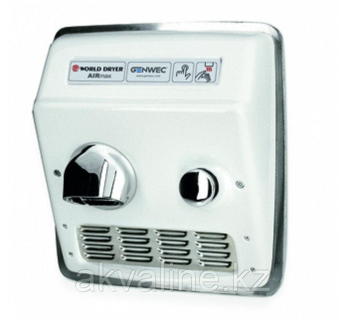 Сушилка для рук чугунная, ручное управление кнопкой, встроенная, белая  Airmax