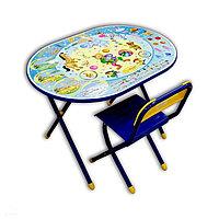 Наборы детской складной мебели Овал с рисунком Цирк, фото 1
