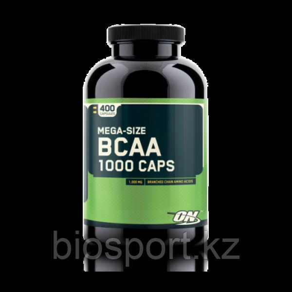 Аминокислоты BCAA 1000 - 400 капсул (Optimum Nutrition)