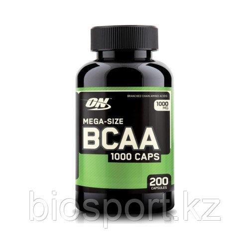 Аминокислоты BCAA 1000 - 200 капсул (Optimum Nutrition)