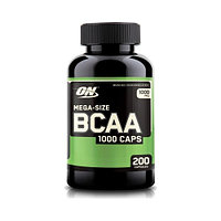 Аминокислоты BCAA 1000 - 200 капсул (Optimum Nutrition)