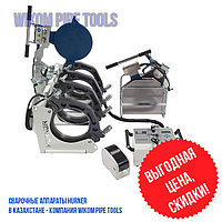 Стыковой сварочный аппарат с протоколированием HURNER 315 для полиэтилена wikomtools.kz