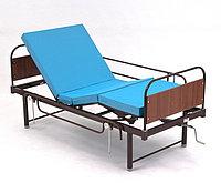 Недорогая медицинская кровать с винтовым приводом  КМФ 933, фото 1
