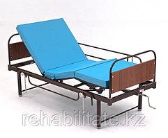Недорогая медицинская кровать с винтовым приводом  КМФ 933