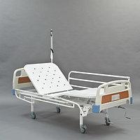 Кровать медицинская функциональная механическая четырехсекционная винтовая МЕТ КФ3-01 , фото 1