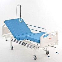 Кровать медицинская функциональная четырехсекционная винтовая МЕТ 3-01 New, фото 1