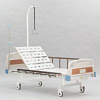 Двухсекционная кровать с винтовой регулировкой положения изголовья RS-112А , фото 1