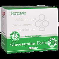 Глюкозамин Форте, Глюкозамин+Хондроитин сульфат+Акулий хрящ экстракт, 589 мг, 60 капсул.