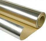 Алюминевая фольга  на бумажной основе  1,0х30м (30м2 в рулоне) для термоизоляции, фото 2