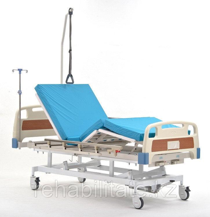 Кровать функциональная медицинская с гидроприводом регулировки высоты RS-105B ГИДРО