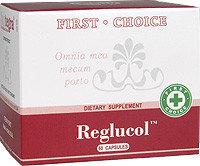 Reglucol Реглюкол, Хром, Джимнема, Банаба, регулятор обмена веществ,уменьшает аппетит. Снижение веса, 60 капс