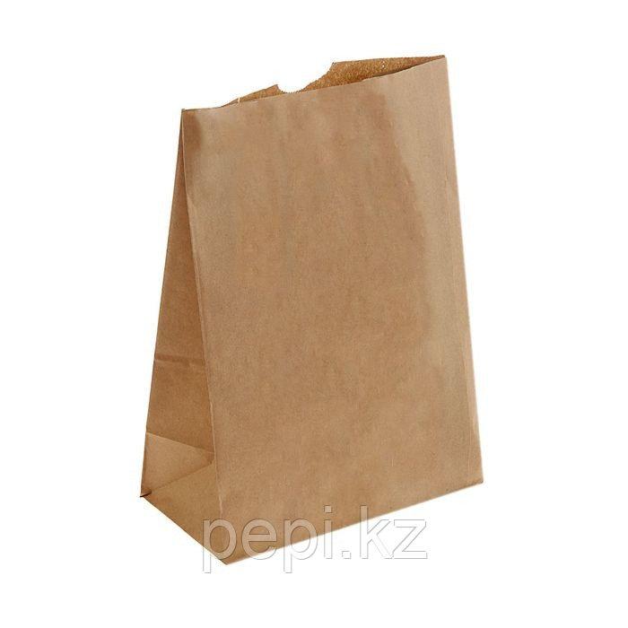Пакет крафт бумажный фасовочный 30,5 х 21,5 х 12 см