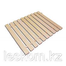 Деревянный коврик (липа) для бани