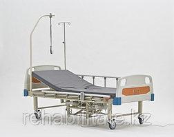 Функциональная электрическая четырёхсекционная кровать с туалетом DB-10