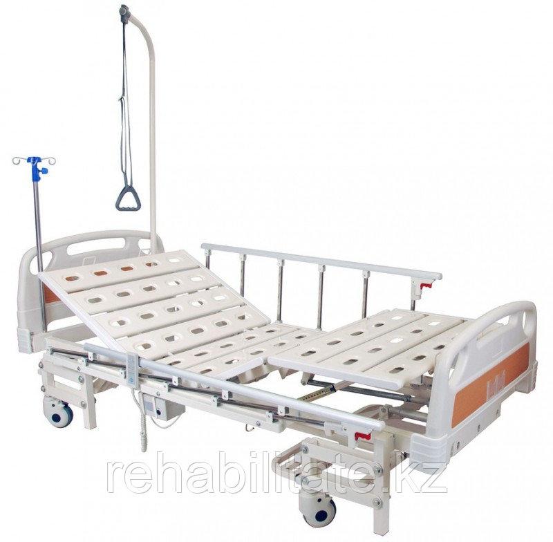 Функциональная кровать с электроприводом регулируемой высоты и секций DB-6 New (Dельта-6)