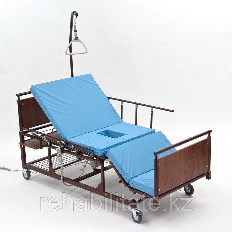 Кровать функциональная с электротуалетом и электропереворотом МЕТ REVEL