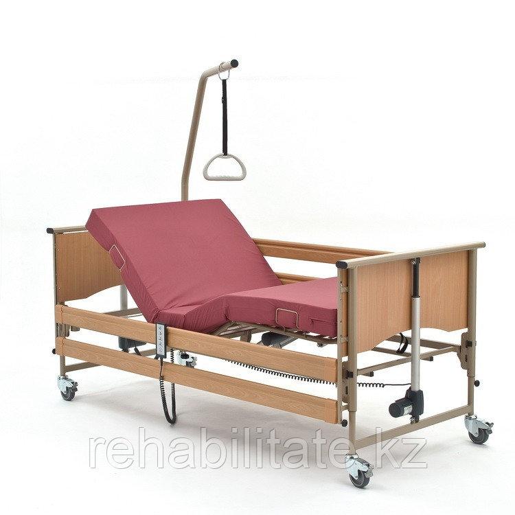 Кровать функциональная 4-х секционная электрическая, в комплекте с матра Vermeiren LUNA Basic. Цвет