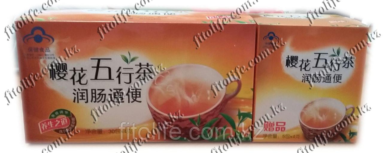 Слабительный чай для очистки кишечника