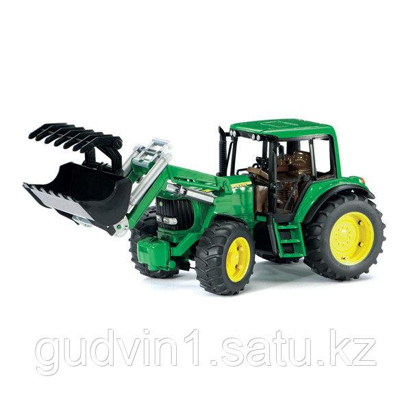 Трактор John Deere 6920 с погрузчиком Bruder (Брудер) (Арт. 02-052)
