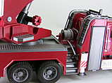 Пожарная машина MACK с выдвижной лестницей и помпой Bruder (Брудер) (Арт. 02-821, 02821), фото 3