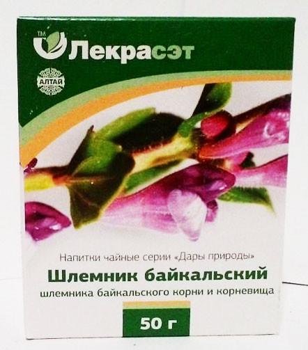 Шлёмник байкальский (корни), 50 г