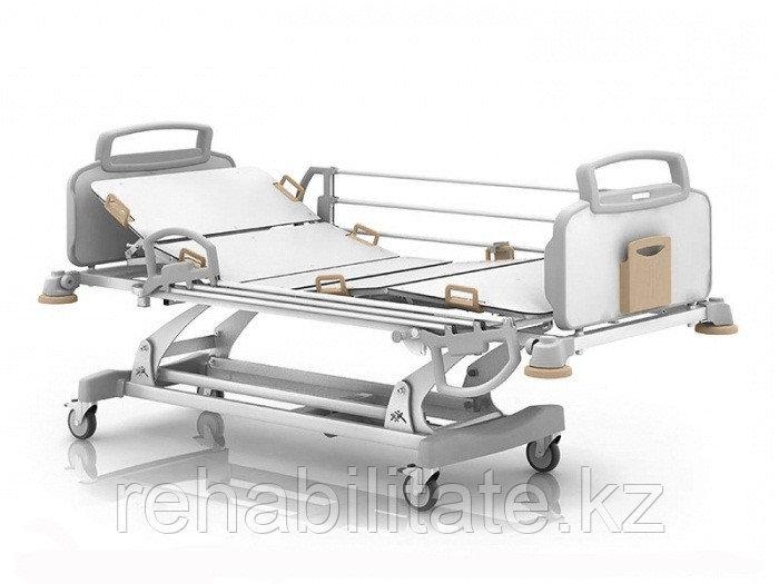Пятисекционная кровать с электроприводными регулировками положения секций и высоты ложа OPTIMAL+