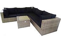 Набор мебели для отдыха, ротанг (Диван, журнальный стол, ротанговая мебель)