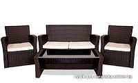 """Ротанговая мебель """"Комплект Диван + 2 кресла"""""""