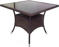 """Ротанговая мебель """"Стол коричневый"""""""