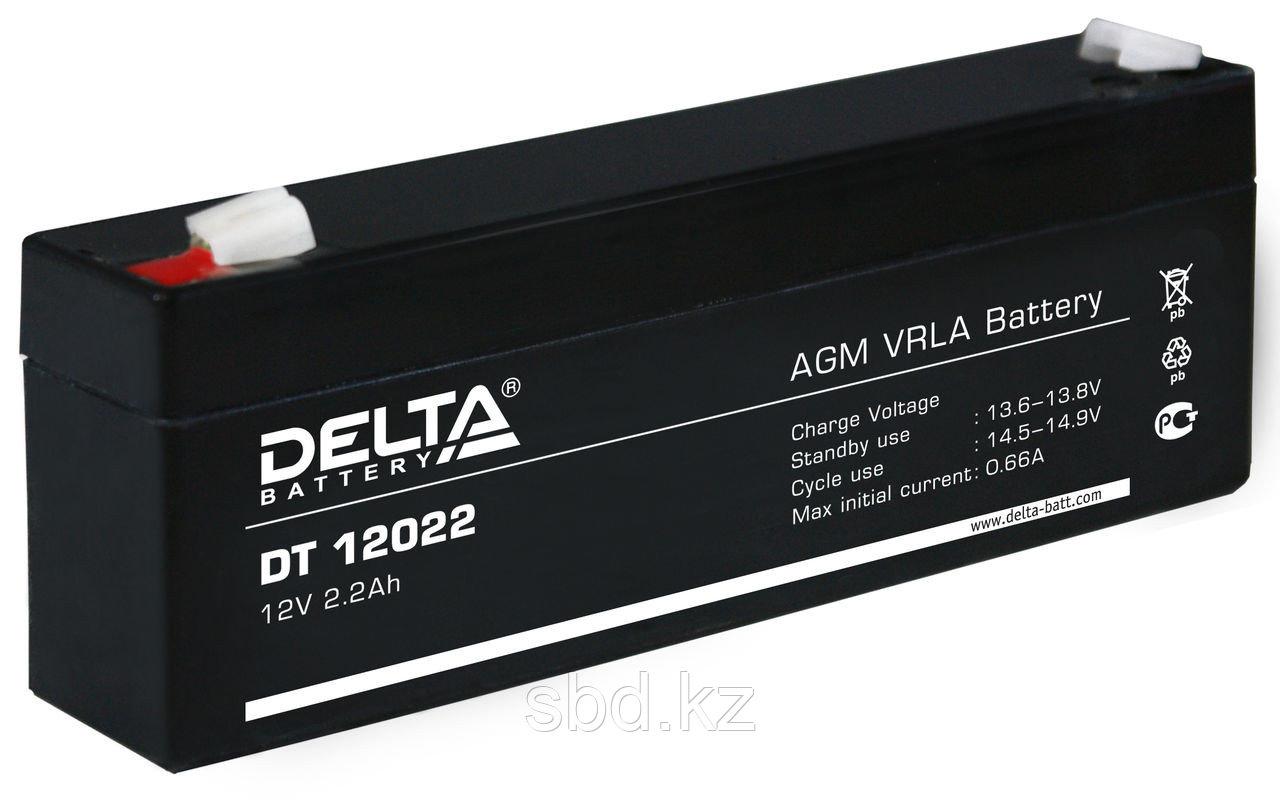 Аккумуляторная батарея Delta 12В 2,3 А/ч