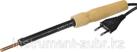 Электропаяльник с деревянной рукояткой, 40Вт, фото 2