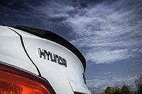 Спойлер ZEUS узкий Hyundai Accent (Solaris) , фото 1