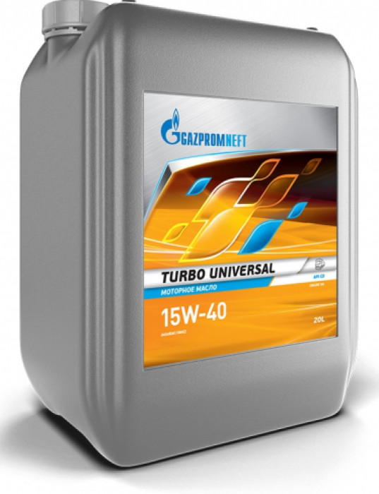 Газпром Turbo Universal 15W-40 масло моторное 20л.