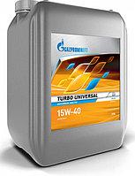 Газпром Turbo Universal 15W-40 масло моторное 20л., фото 1