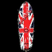 """Наждак-самоклейка антискользящая """"British Standard"""" для деревянного скейта рыбки 27 дюймов (Penny)"""
