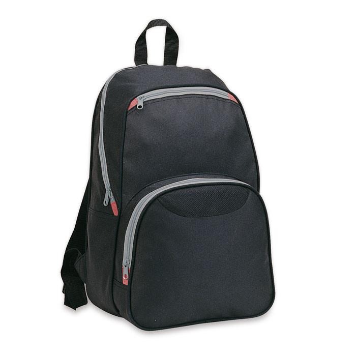 Рюкзак с наружными карманами.