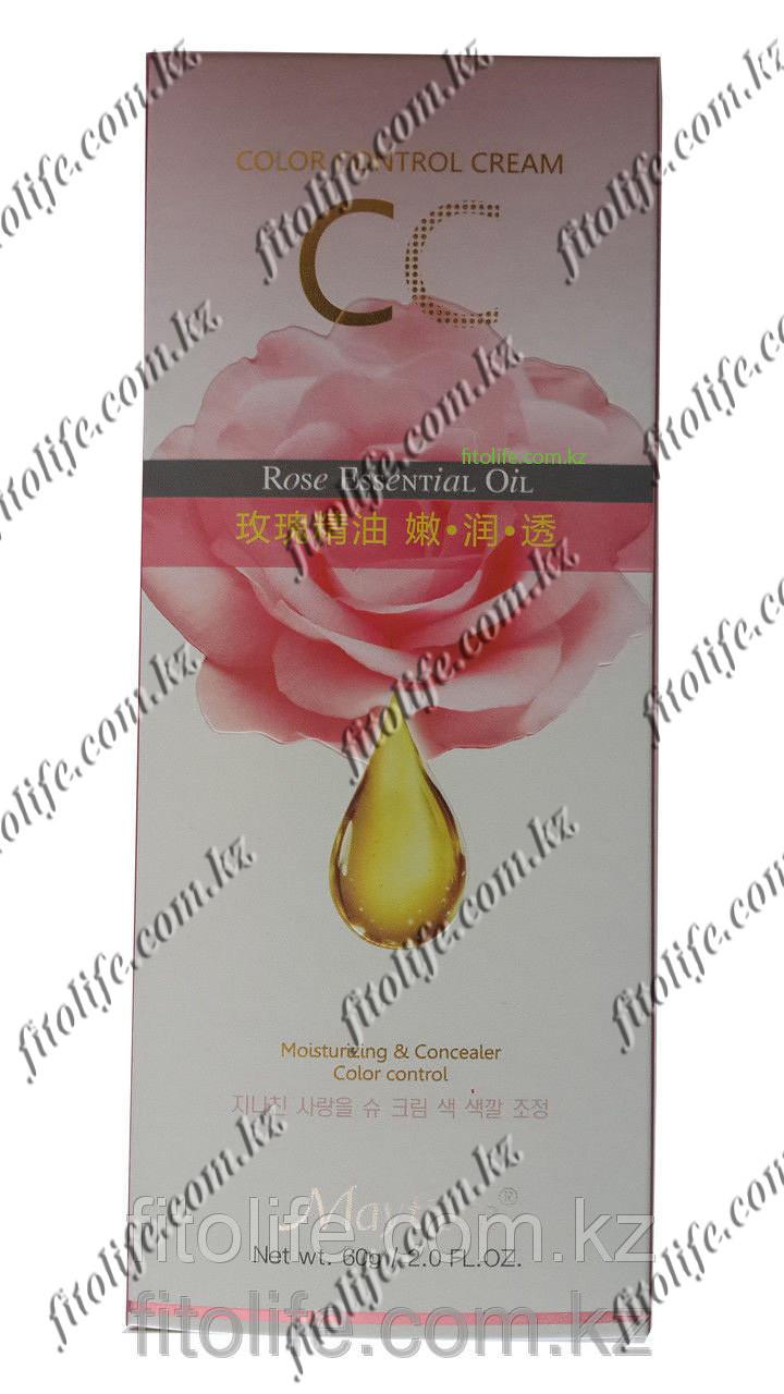 Тональный крем C.C Mayfiece,увлажняющий с экстрактом розы