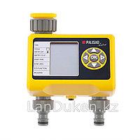 Электронный таймер для полива на 2 линии 66199 Palisad Luxe (002)