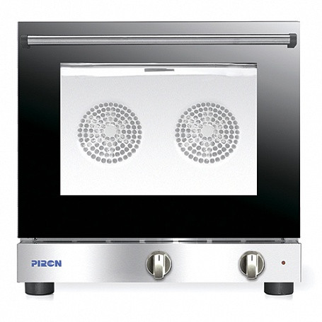 Печь конвекционная PIRON PF5004F (4 противня 480х345, 3,3 кВт, 600x600x540)