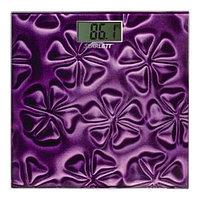 Весы напольные SC-2218 фиолетовый